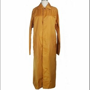Vintage LONGCHAMP nylon trench LONG raincoat